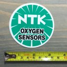 NTK Spark Plugs Sticker Decal Oxygen Sensors Racing Car Nascar NHRA Motorcycle 1