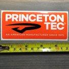 Princeton Tec Sticker Orange Decal Hiking Camping Hunting Headlamp Jacket Pants Mens