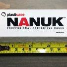Nanuk Sticker Cases Decal Tactical Gear White Plastic Firearms Hunting Militia