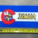 "6"" Honey Stinger Sticker Decal Energy Waffles Colorado Logo Chews Bars Gels Natural Foods"