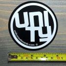 Unity Snowboard Sticker - Black - Bindings Splitboard Boots Jacket Pants Gloves Goggles