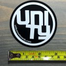 "Unity Snowboard Sticker Decal 3"" Bindings Splitboard Boots Jacket Pants Gloves Goggles"