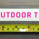 "6"" Outdoor Technology Sticker Decal Tech Pink Yeti Sasquatch"