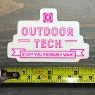 Outdoor Technology Sticker Decal Tech Pink Yeti Sasquatch
