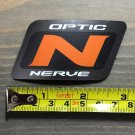 "3"" Optic Nerve Goggles Snowboard Sticker Orange Decal Boots Ski Sunglasses"