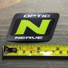 "3"" Optic Nerve Goggles Snowboard Sticker Green Decal Boots Ski Sunglasses"