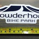 Powderhorn Sticker Mountain Ski Resort Bike Park Decal Snowboard Colorado Love