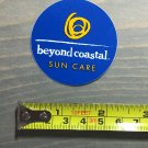 Beyond Coastal Sticker Decal Sunscreen Beach Sunglasses