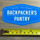 Backpackers Pantry Sticker Decal Hiking Colorado Camping Meals Food Nutrition