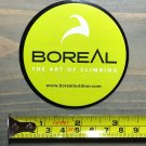 Boreal Sticker Decal Climbing Gear Black Hiking Rope Carabiner Ice Tool Green