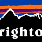 "Brighton Sticker Decal 3"" Ski Resort Snowboard Utah PO"