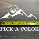 "Colorado Sticker Decal 5.5"" 14er 14ers Die Cut Colorado Mountains Vail Flag XO"