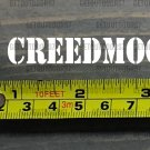 "6.5 CREEDMOOR Sticker Decal 3.5"" Ammo Can Box Label Ammunition Case DIE CUT XO"