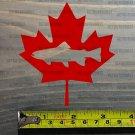 "Trout Fishing Sticker 3.5"" Decal DIE CUT Canada Maple Leaf Fly Canadian Sage XO"