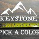 "Keystone Sticker 5"" Colorado Ski Mountain Snowboard Decal XO"