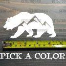 "Bear Sticker Decal 4.5"" DIE CUT Mountain Sitka First Lite Simms Sage KUIU XO"