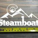 "Steamboat Sticker Decal Springs DIE CUT 5.5"" Mountain Ski Colorado XO 1"