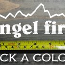 "Angel Fire Sticker Decal 5.5"" Mountain Ski New Mexico Red River Snowboard XO"