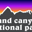 Grand Canyon Sticker Decal National Park Rim To Rim Hiked Hiking R2R2R PO