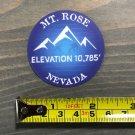Mt. Rose Sticker Mount Decal Mountain Ski PO Snowboard Nevada Diamond Peak