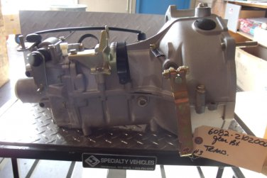 6082-2102000 - Gear Box Assembly - 4 Speed transmission (See Note)