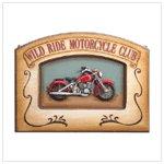 """""""Wild Ride Motorcycle Club"""" Plaque"""