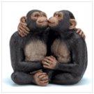 Kissing Monkey Couple