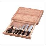 Cutting Board Knife Set