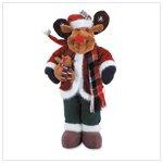 Posable Plush Rudolph