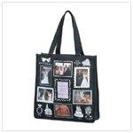 Wedding photo tote bag