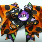 Halloween Purple Spider Hair Bow (Item no. 00025)