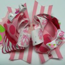 Pink Ballerina Hair Bow (Item no. 00006)