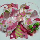 Pink Princess Ballerina Hair Bow (Item no. 00005)