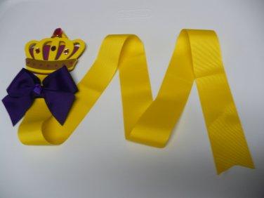 Princess Crown Hair Bow Holder (Item no. HBH003)