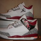 Air Jordans 3 MJ Flight / J3-56