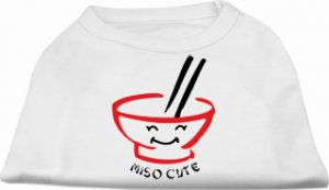 """Miso Cute""  Dog Clothes Shirt"