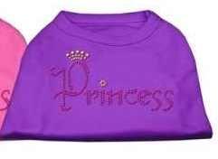 """Rhinestone """"Princess"""" Dog Shirt"""