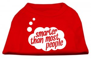 """""""Smarter Than Most People"""" Tank Shirt"""