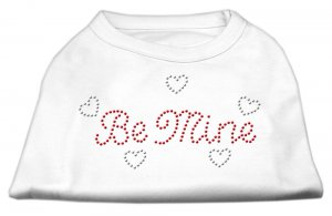 """Be Mine"" Rhinestone Dog Shirt"