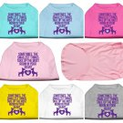 """Pet Shirt """"Sometimes the Smallest Things Take Up the Most Room In Your Heart"""" (Sizes XS to XXXL)"""