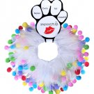 Colorful Festive Pet Smoochers Size Small - Order 3 or More