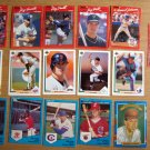 18 MLB Baseball Cards Topps Donruss Upper Deck Co Pro Cards Mixed Players 1989