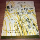 XEROX Promotional Book 1960 Big PUPPY And Little Puppy