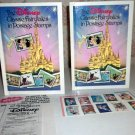 DISNEY Classic Fairytales In Postage Stamps With Stamps Snow White lot of 2