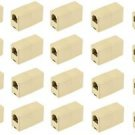 20 Pieces of RJ11 to RJ11 Telephone Coupler 6P4C - 100% New!