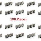 100 Pieces Shielded Cat6 RJ45 Modular Plug Network Connector 8P8C - 100% New!