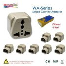 8 Pieces of Wonpro Computer Adapter IEC Male Plug - 100% New!