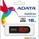 ADATA C008 USB 16GB Flash Drive (Black) - Made in Taiwan!