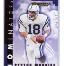 Peyton Manning 2000 Donruss Dominators #D-10 Colts, Broncos Serial #3218/5000