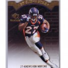 Knowshon Moreno 2009 SP Threads #AP-48 RC Die-Cut Broncos